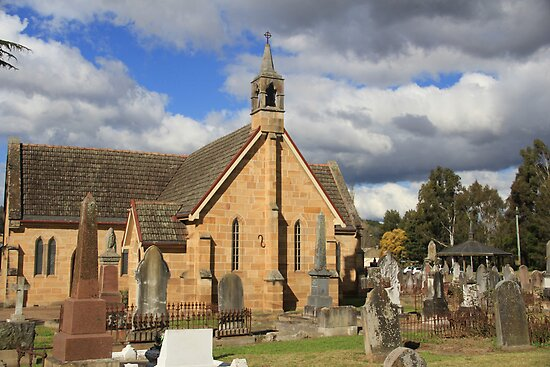 St. Marks Anglican Church and Colonial Cemetery by ©Josephine Caruana