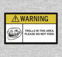 Warning - Trolls T-Shirt
