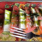Tomato Mozzarella Salad by Mikell Herrick