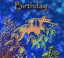 Happy Birthday Seahorse by jkartlife