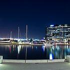 Docklands, Webb Bridge, Melbourne by dsi-photography