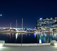 Docklands, Webb Bridge, Melbourne by dsi-photography