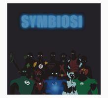 Symbiosi Stickers by YJTees