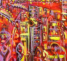 Scarlet rush by Adam Bogusz