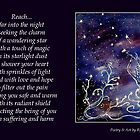 Reach for the Stars - Poetry in Art by Robin Monroe