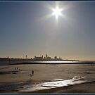 New Brighton Beach by alan tunnicliffe
