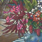 miniature still life by water by maria paterson