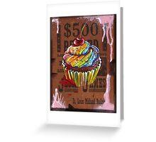 Jesse James' $500 Cupcake Greeting Card