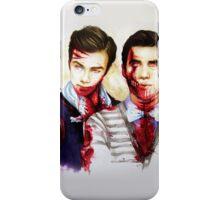zombie!klaine iPhone Case/Skin