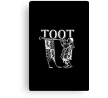 Funky Trumpeter Wanna Give it Some! TOOT! Canvas Print