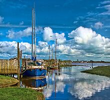 High Tide at Skippool Creek. by Tarrby