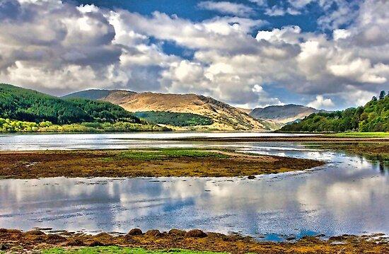 Loch Sunart From Strontian by Tarrby