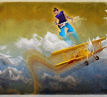 wing walker by David Kessler