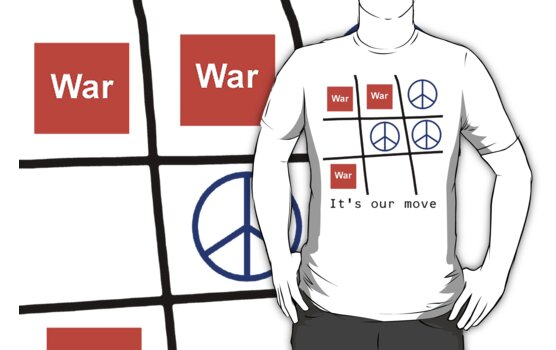 "Peace ""It's Our Move"" T-Shirt by T-ShirtsGifts"