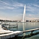 Jet l'eau Geneva by David Freeman