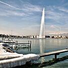 Jet l'eau Geneva by David Freeman