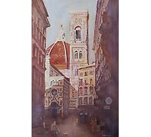 And Suddenly, The Duomo Photographic Print