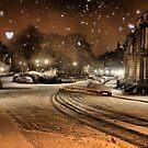 St Bernard's Crescent Winter by Jordan Moffat