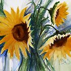 Sunflowers II by FaceAboutArt