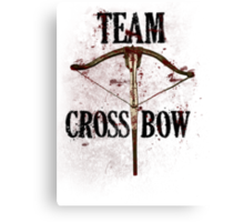 Team Crossbow Canvas Print