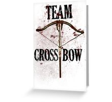 Team Crossbow Greeting Card