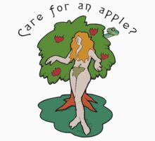 "Funny Women's Eve ""Care For An Apple"" by T-ShirtsGifts"