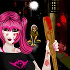 Crazy Amy: Left 4 Dead by LARiozzi