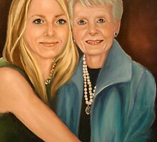 Abby and her Gram full size by Cathy Amendola