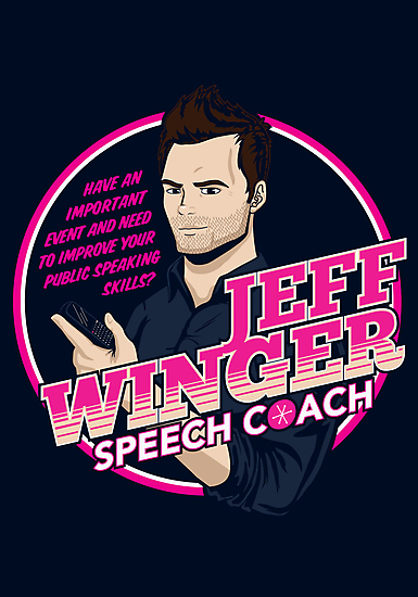 Jeff Winger: Speech Coach by huckblade