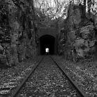 Railway Tunnel by Rick McKee