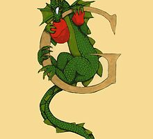 "Oscar and the Roses ""G - Tail"" (Illustrated Alphabet) by Donna Huntriss"