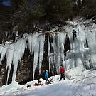 Ice Climbing Adventure by Mark Van Scyoc
