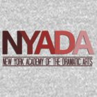 NYADA variation in red by jessellstuff