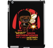 Adventure Fiction - Say What Again iPad Case/Skin