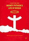 No182 My Monty Python Life of brian minimal movie poster by Chungkong