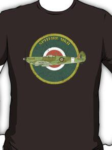 RAF MKII Spitfire Vintage Look Fighter Aircraft T-Shirt