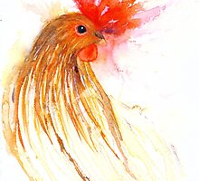 The Hen that Disappeared and then Came Back by Jacki Stokes