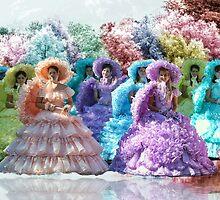 Southern Belles on a Pastel Lake.... by zpawpaw