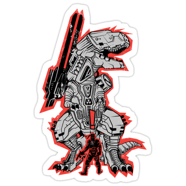 Metal Gear T.REX by MeleeNinja
