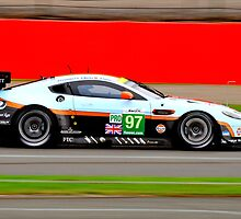 Aston Martin Racing No 97 by Willie Jackson