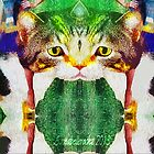 Fractal cat by Annabellerockz