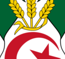 Coat of Arms of Algeria Sticker