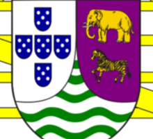 Coat of arms of Portuguese West Africa Sticker