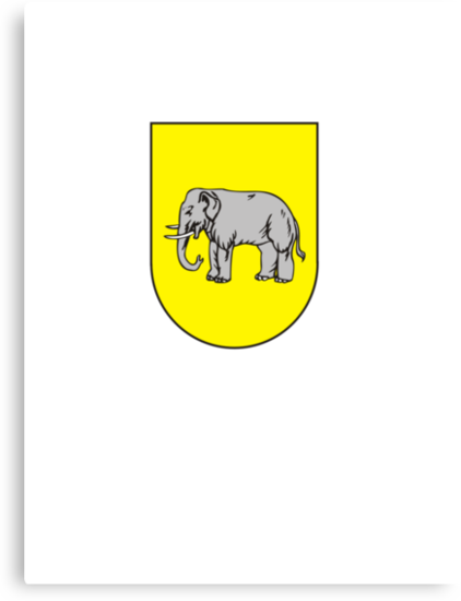 coat of arms of Benguela capital of Portuguese province Bengala by Tia Knight