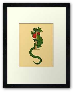 "Oscar and the Roses ""I"" (Illustrated Alphabet) by Donna Huntriss"
