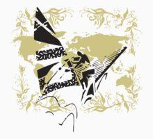 Windsurfing Urban Grunge Kids Clothes