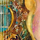 Gibson Hummingbird Guitar by Dorrie  Rifkin