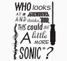 Sonic Screwdriver by ChoaticCalm
