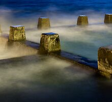 Coogee sea pool, predawn. by Steve Munro