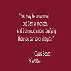 Cyrus Vs. Mellie by ScandalFan
